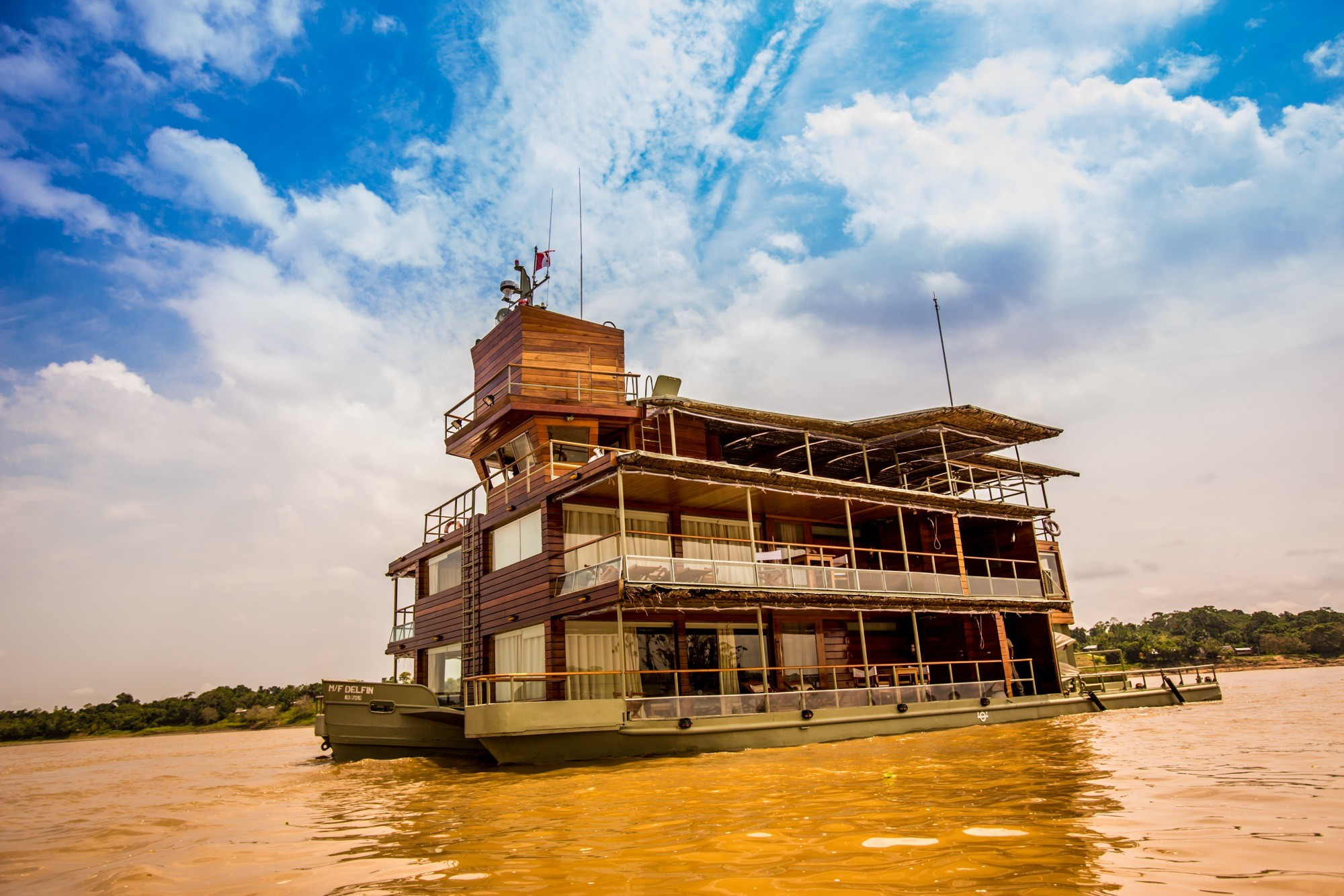 Amazon River Cruise Delphin Peru