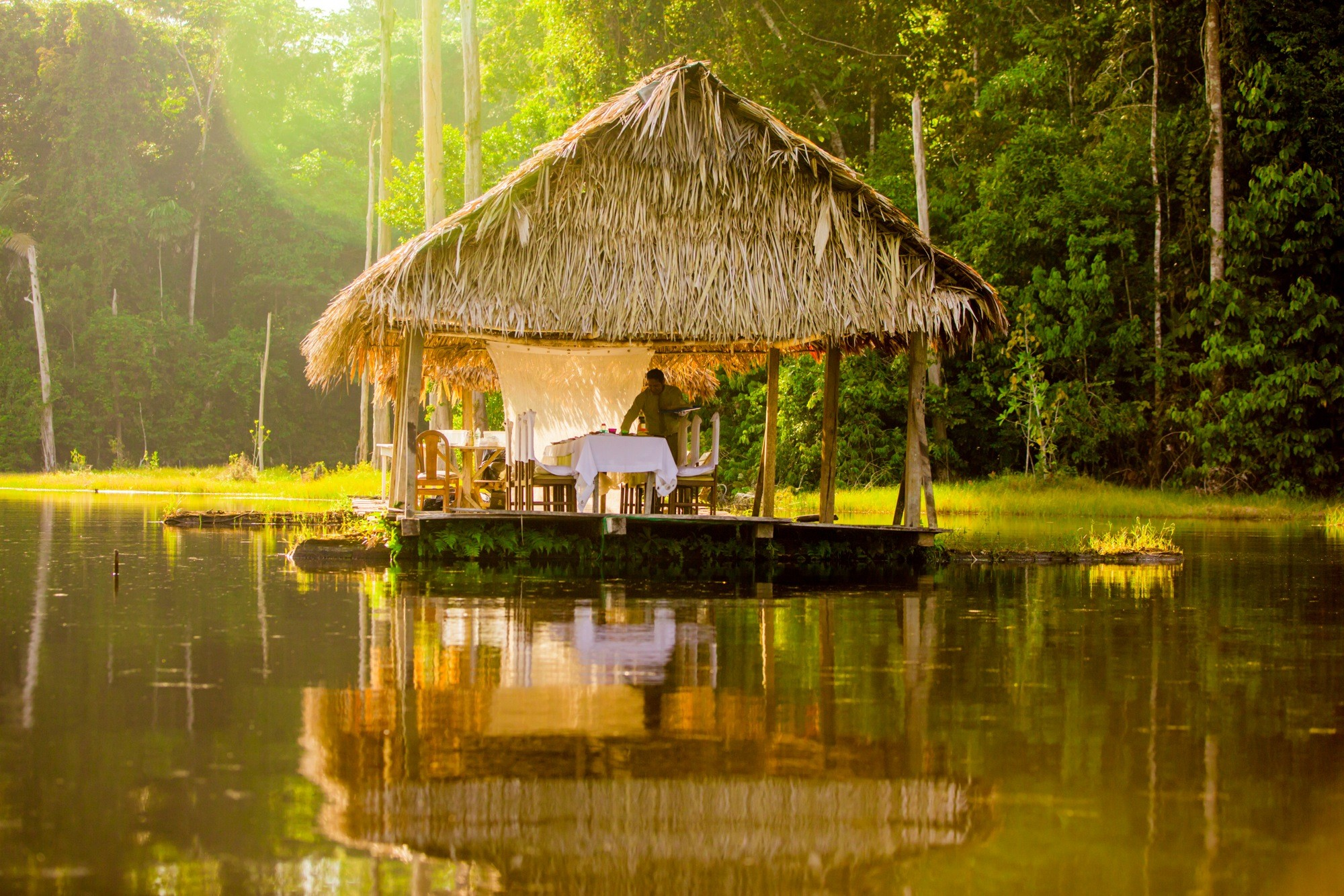 Amazon River Cruise Peru treehouse