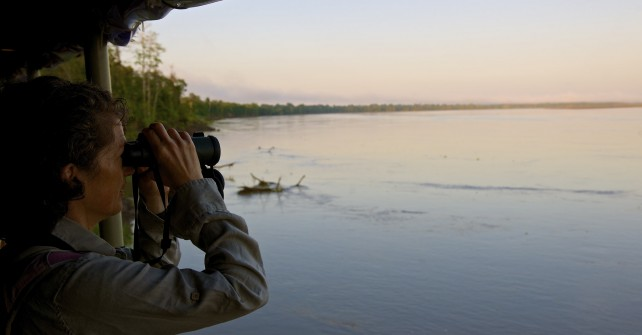 Tour the Amazon on the luxurious Delfin Amazon Cruises