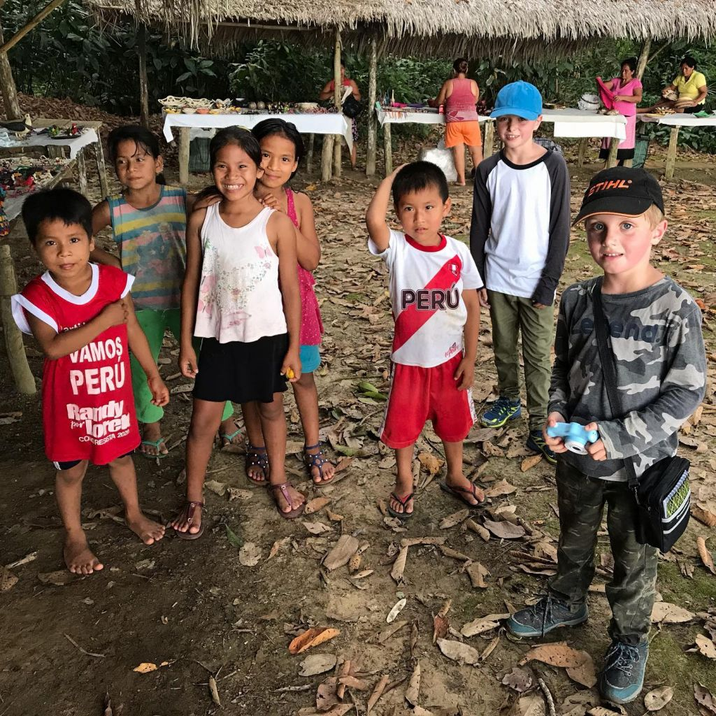 Local Amazonian Communities with Kids